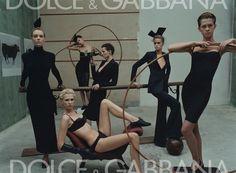 Dolce & Gabbana S/S 2001. Various models by Steven Meisel