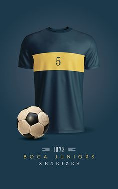 Boca Juniors Soccer T-Shirts / Printable / Wall Art / Poster / Decor
