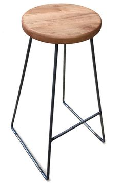 Barstools: One night at Community Woodshop and one night at Molten Metal Works