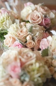 Image result for wedding bouquet roses pastel