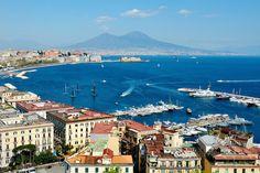 Naples panoramic view with Vesuvius. I. IOU I in.    I. Iu.                N. N. N. N. N. N. N