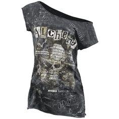 Alchemy England camiseta code 666 $29.99 (euros) en EMP Rock Mailorder España : La más grande venta por correo de Merchandising Oficial Musica Metal / Hard rock / Heavy / Gótico / Militar/ Lolita & Punk Style ..de Europa !