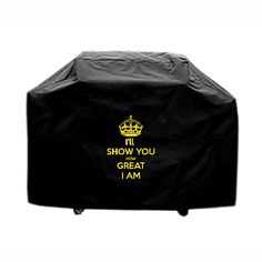 Custom BBQ grill cover outdoor indoo I will show you how great I am. #customgrillcover #outdoorbbqgrillcover #grillcover #bbqcovers #custombbqcovers #eastergift