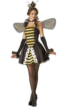 Elite Quality Sexy Queen Miss Bee Have Costume