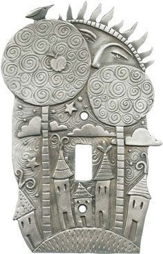 Little Village Light Switch Plates, Outlet Covers, Wallplates