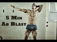 BEST 5 Minute Home Ab Routine (Workout) - YouTube