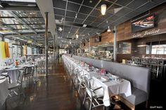 La brasserie de l'Ouest, à Lyon, restaurant du groupe NordSud Brasseries de Paul Bocuse et Jean Fleury.