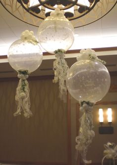 Fancy schmancy the  balloon decor: