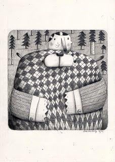 Robert Romanowicz illustration: Sezon na misia