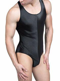 Mens Bodysuit, Ribbed Bodysuit, Lycra Men, Pullover Shirt, Lingerie For Men, Stretch Satin, Sport Fashion, Outerwear Jackets, Lounge Wear