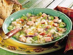 German Sausage & Cabbage Soup