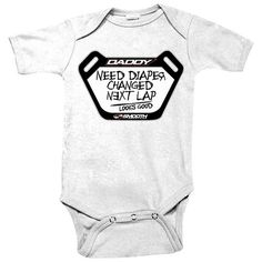 MOTOX GRAVITY Babygrow Motocross Dirt Bike Boys Vest Bodysuit Baby Shower Gift