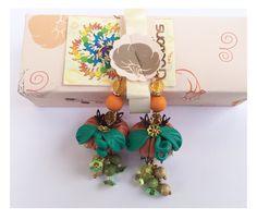Orecchini da Donna in Fimo: ~ Zucca Halloween ~ Gioielli e Bigiotteria: Uredda Creations: Amazon.it: Gioielli