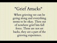 Grief shock. It's real. Hits like a bolt of lightning straight to your heart.