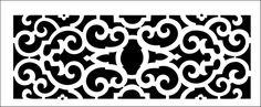 Tudor stencil from The Stencil Library BUDGET STENCILS range. Buy stencils online. Stencil code TR113.