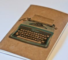 Love these not so classically designed moleskin notebooks.