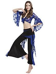 Dancewear Crystal Cotton With Lace Belly Pant Outfit for Ladies More Colors Cheap Dancewear, Belly Dance Outfit, Dance Tops, Cotton Lace, Dance Outfits, Pants Outfit, Dance Wear, Fashion Outfits, Clothes For Women