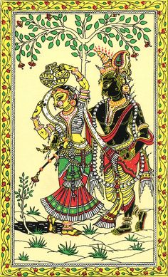 Get a feel of the local art of #Orissa while you are in #Puri. Visit Raghurajpur for this village is famous for its attractive patachitra and talapatachitra (paintings on silk and palm leaves) illustrations.  Photo courtesy: Wikipedia