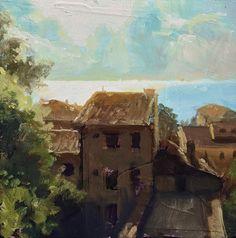 Italian Coast 1 by Christopher Clark Chateau On The Lake, Jump The Shark, Denver Skyline, Barcelona Street, Blue Macaw, Cradle Of Civilization, Violet Eyes, Kirito, Surfs Up