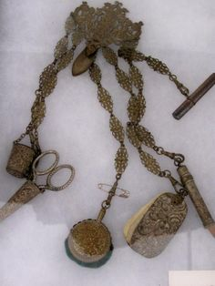Civil War era chatelaine. Learn about your collectibles, antiques, valuables, and vintage items from licensed appraisers, auctioneers, and experts.  http://www.bluevaultsecure.com/roadshow-events.php