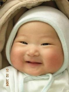 Chubby cheeks this baby is darling health cheeks and cute little eyes God knows what He is doing! Precious Children, Beautiful Children, Beautiful Babies, Children Toys, Little Doll, Little Babies, Cute Babies, Cute Asian Babies, Baby Kind