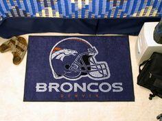 """NFL - Denver Broncos Starter Rug 19""""x30"""""""