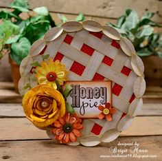 so cute - pie card