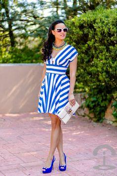 Stripes Inspiration ( Sunglasses & Striped Dresses )