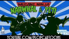 Teenage Mutant Ninja Turtle Parody Animation (the Narwhal Yeti Show) The Narwhal, Teenage Mutant Ninja, Ninja Turtles, Cartoons, Comic Books, Animation, Comics, Animated Cartoons, Cartoon