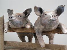 Ronnie Gould: Clay Animals