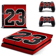 Legend of 23 Skin - PS4 Protector