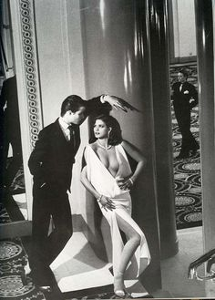 Vogue France, March 1979 Photographer : Helmut Newton Model : Gia