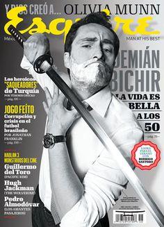 Esquire Mexico Art Director: Alfredo Ceballos Photo Editor: Karina Dominguez Photographer: Allan Fis