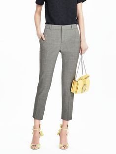 SHOP NOW, STRAIGHT FROM NYFW. This limited-quantity, early release style is showing in our Fall '16 collection at NYFW. Meet your new go-to crop. The Avery has a trouser fit through the hip and thigh that creates an effortlessly chic tailored silhouette.l | Banana Republic