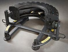 NEW TIREFLIP 180 FUNCTIONAL TRAINING MACHINE FOR TIRE FLIPPING AND MILITARY FITNESS TRAINING BY THE ABS COMPANY.