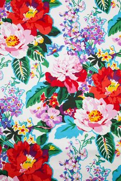 Obsessed with his bright floral print Textile Patterns, Print Patterns, Floral Patterns, Textiles, Pattern Art, Pattern Design, Colour Pattern, Wallpaper Backgrounds, Iphone Wallpaper