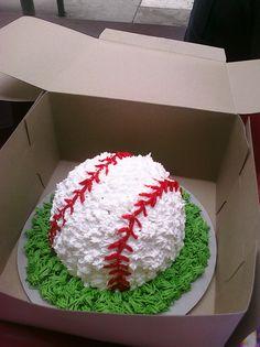 Baseball themed birthday party