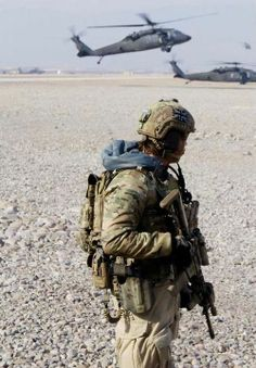 British Special Forces Support Group soldier.
