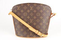 a6a50f10f Hochwertige, günstige, garantiert echte Louis Vuitton Drouot aus Monogram  Canvas online zu kaufen bei