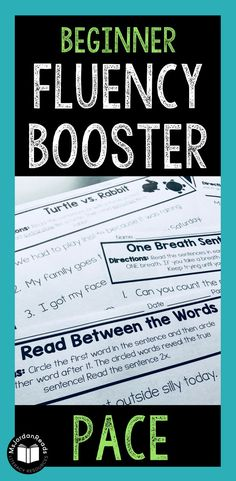 Fluency Booster Acti