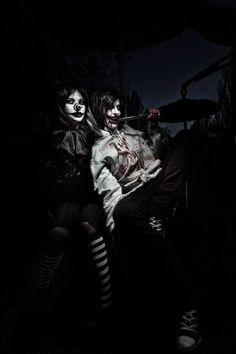 Jeff The Killer and Laughing Jack by VultureImagination on deviantART