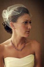 vintage wedding headpiece necklace   Lindsey Hawk Designs