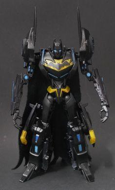 Batman / Batmobile Transformer (Transformers) Custom Action Figure