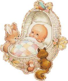 анимация новорожденный малыш