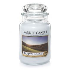 Early Sunrise A new day dawns crisp and fresh in this clean lemony citrus scent with hints of ginger and tea.