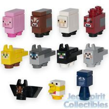 Lego Minecraft Style Custom Micro Mob Animals (x11) - FREE USA SHIPPING