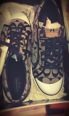 Coach shoes <3