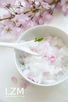 cherry blossom sugar scrub