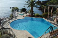 Check out this awesome listing on Airbnb: Waterfront appartment.Private beach - Flats for Rent in Théoule-sur-Mer