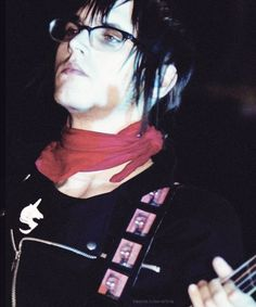 Mikey way with glasses